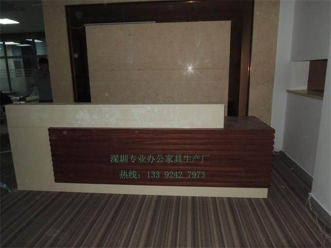 3.2米实木油漆前台